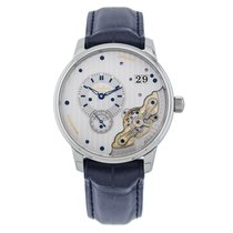 Glashütte Original 1-91-02-02-02-30 or 91-02-02-02-30 Steel PanoMaticInverse 42mm new