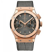 Hublot Rose gold Automatic 45mm new Classic Fusion Racing Grey