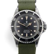 勞力士 5512 鋼 1977 Submariner (No Date) 40mm 二手