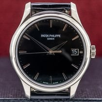 Patek Philippe Calatrava White gold 39mm Black