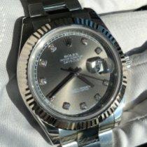 Rolex Datejust II Stal 41mm Szary