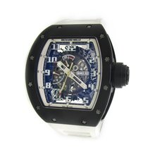 Richard Mille RM 030 Carbon 50mm Transparent Arabic numerals