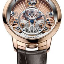 Arnold & Son Rose gold 44.6mm Manual winding 1TPAR.F01A.C125A new