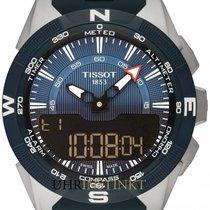 Tissot T-Touch Expert Solar Titan 45mm Blau