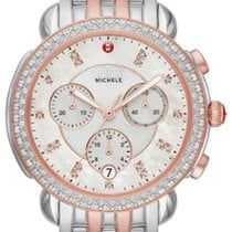 Michele MICHELE SIDNEY DIAMOND ROSE TWO-TONE MOP DIAL MWW30A000036 new