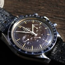 Omega Speedmaster Professional Moonwatch Acero 42mm Marrón Sin cifras