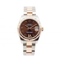 Rolex Lady-Datejust Gold/Stahl 31mm Braun Deutschland, Köln