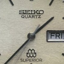 Seiko Superior Acero 36mm Champán Sin cifras