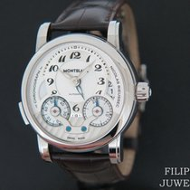 Montblanc Nicolas Rieussec 102337 Very good Steel 42mm Automatic