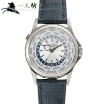 Patek Philippe World Time Or blanc 39.5mm Argent