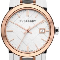 Burberry Steel 34mm Quartz BU9105 new