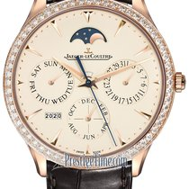 Jaeger-LeCoultre Master Ultra Thin Perpetual Rose gold 39mm Silver United States of America, New York, Airmont