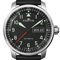 Fortis Aviatis 41 Flieger Professional Day Date
