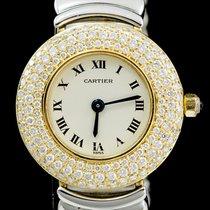 Cartier Baignoire Or jaune 24mm Champagne Romain