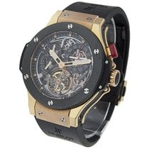 Hublot 308.M.130.RX Bigger Bang Tourbillon in Rose Gold with...