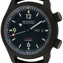 Bremont : U-2 :  U-2-DLC :  Black DLC coated Stainless Steel