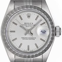 Rolex Ladies Date Stainless Steel Watch 79240