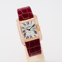 Cartier Tank Anglaise 39mm unworn box and papers