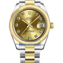Rolex nuevo Automático 31mm Acero y oro