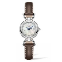 Longines Equestrian Steel 26.5mm Mother of pearl No numerals