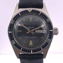 Aquastar vintage DAY DATE from DUWARD genève cousteau watch...