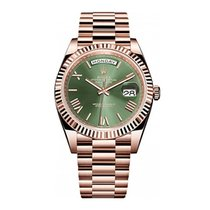 Rolex Day-Date 40 Rose gold 40mm Brown UAE, Dubai