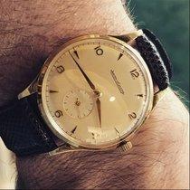 Jaeger-LeCoultre vintage 1949 JLC calatrava screwed back gold...