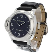 Panerai Luminor Base Steel 44mm Black United Kingdom, London