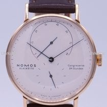 NOMOS Rose gold Manual winding 39mm new Lambda