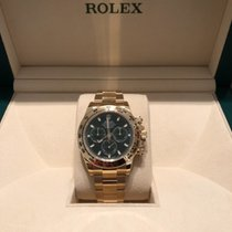 Rolex 116508 Daytona Yellow Gold with Green Dial