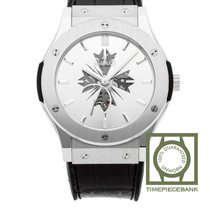 Hublot Platinum Manual winding Silver 45mm new Classic Fusion Ultra-Thin