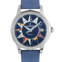 Corum Admiral's Cup Legend 38 A082/03181 - 082.200.20/0373 AB12 new