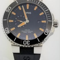 Oris Aquis Small Second Steel 45.5mm Black No numerals United States of America, Alabama, Oranjestad