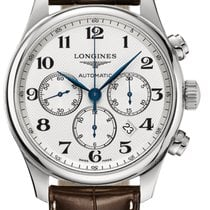 Longines L2.859.4.78.3 Steel 2018 Master Collection 44mm pre-owned