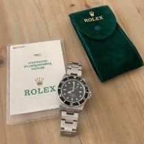 Rolex Sea-Dweller 4000 Stahl 40mm Schwarz Keine Ziffern Schweiz, Hauterive