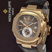 Patek Philippe 5980R-001 Rose gold 2010 Nautilus 40.5mm pre-owned