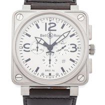 Bell & Ross BR 01-94 Chronographe Steel 46mm White Arabic numerals United States of America, New Jersey, Princeton