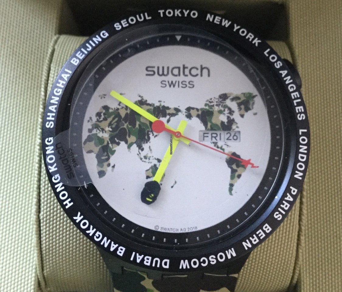 Big World Bape Swatch The Bold SVpqUzGM