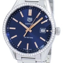 TAG Heuer Carrera Lady Steel 39mm Blue Singapore, Singapore