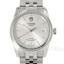 Tudor Glamour Date Steel 36mm Silver No numerals