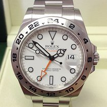 Rolex Explorer II Steel 42mm White No numerals United Kingdom, Wilmslow