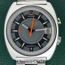 Omega Memomatic Acier 41mm Gris Sans chiffres