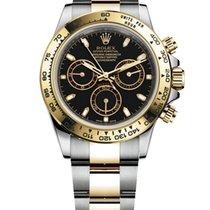 Rolex Daytona Gold/Steel 40mm Black No numerals Canada, Abbotsford
