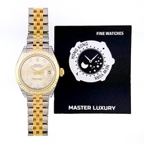 Rolex Lady-Datejust 279173 New Gold/Steel 28mm Automatic