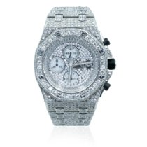 Audemars Piguet Royal Oak Offshore Chronograph Steel 42mm Silver No numerals United States of America, Michigan, Southfield
