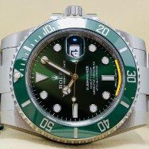 Rolex Submariner Date 116610LV Neu Stahl 40mm Automatik
