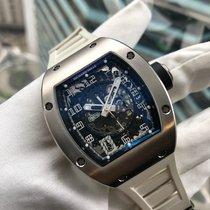 理查德•米勒 RM010 18K White Gold Skeletonised Automatic Date