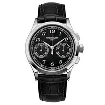 Patek Philippe Complications Chronograph White Gold Watch...