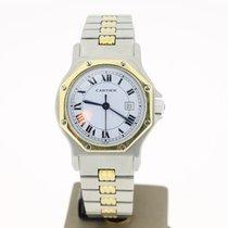 Cartier Octagon Medoum. Steel/Gold (BOX) 31mm