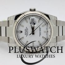 Rolex DATEJUST 116234 White Dial Bianco